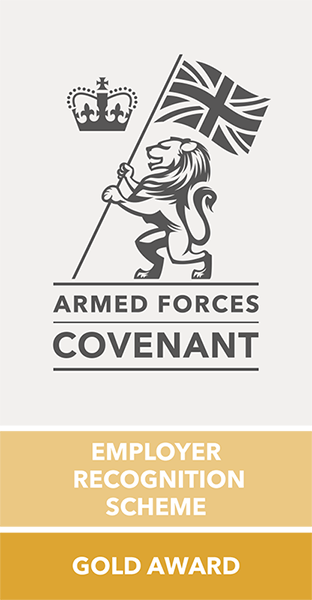 Armed Forces Covenant, Employer Recognition Scheme - Gold Award